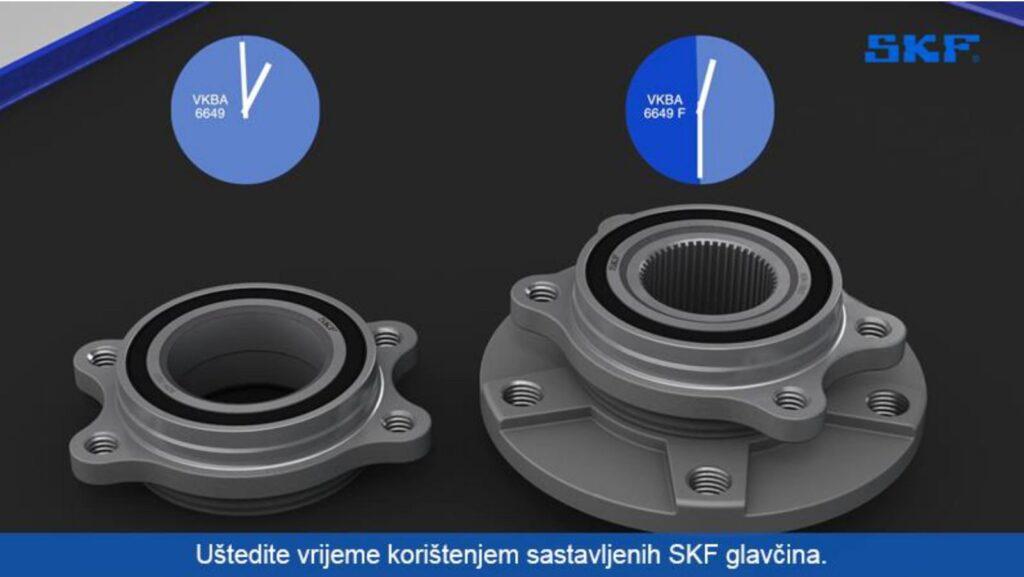 Novo u SKF ponudi: Unaprijed sklopljeno rješenje ležajeva kotača!